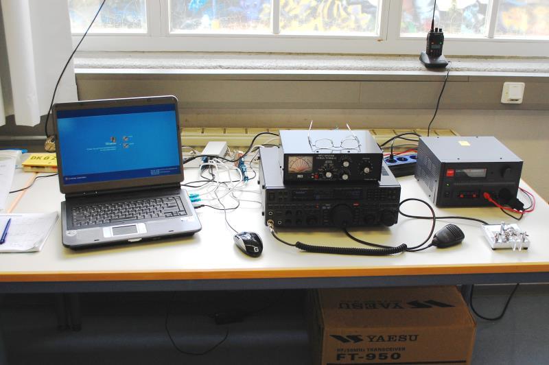 Unsere Funkstation